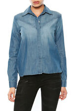 FRAME Denim Le Western Pacific Denim Shirt LWS109 S-M