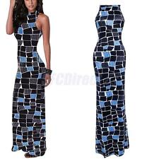 Plus Size Summer Womens Bodycon Evening Party Cocktail Bandage Maxi Long Dress