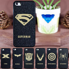 Super Heros Spiderman Avengers Etc Hard Case For Apple iPhone 5/5S .5SE & 5C