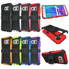 For Samsung Galaxy S7 Case Hybrid Armor Dual Layer Protective Kickstand Cover