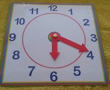 Clock face -Learn to  Tell the time-  special needs- teach & learn the time