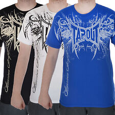 TAPOUT Darkside Mens MMA UFC Cage Fighter Short Sleeve T Shirt Top