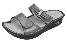 NEW ALEGRIA KARMEN SANDALS WOMENS SHOES PEWTER EASY ORTHOTICS ARCH SUPPORT