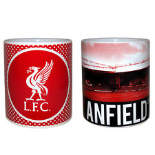 Liverpool Football Club Official Soccer Gift Boxed Ceramic Mug Red