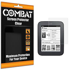3X COMBAT HD Screen Protector Cover For Barnes and Noble Nook Simple Touch