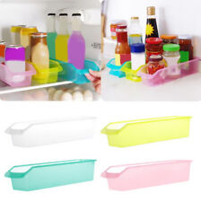 Kitchen Organiser Holder Refrigerator Fruit Collecting Box Storage Basket Rack