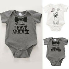 Newborn Baby Kids  Hot Jumpsuit  Outfit  Boys Girls  Romper  Clothes  Bodysuit