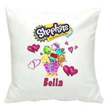 Personalised Shopkins Cushion Cover 40 cm Present Birthday Gift