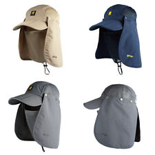 360-degree Neck Cover Ear Flap Outdoor UV Sun Protection Fishing Cap Hiking Hat