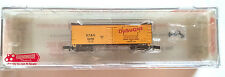 "Roundhouse ""N"" Scale 36' Steel Underframe Meat Reefer 86803 Dubuque Packing Co."