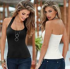Top Sleeveless Women Fashion Blouse Summer Vest Casual Tank Tops Sexy T-Shirt