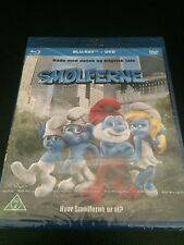 THE SMURFS ( SMOLFERNE) - Import with English Audio -  NEW(03) {BluRay + DVD}
