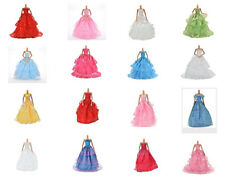 1Pc Fashion Party Dresses Clothes Shoes Gown For Barbie Doll Girls Random Pick *