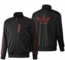 Adidas Originals Tartan TT Firebird Zip Jacket Track Top Mens XS S M L or XL NEW