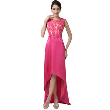 Short Pink Evening Party Prom Gown Formal Bridesmaid Cocktail Homecoming Dresses