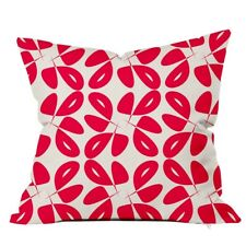 Positively Home Leaves Floral Throw Pillow