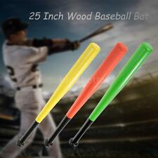 25 Inch Wood Baseball Bat Wooden Softball Bat Sports Racket High Quality D9K8