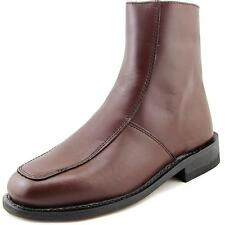 """Executive Imperials 7"""" Dress Boot Men 3E Round Toe Leather Brown Ankle Boot NWOB"""