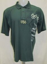 South Florida Bulls Men's M, L, XL, Short Sleeve Polo Shirt NCAA Green A11MRB