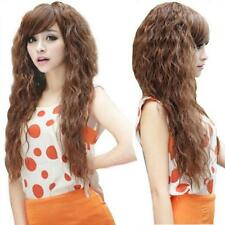 Hair Wigs Sexy Long Cosplay Party Fashion Full Curly Womens Top Wavy 3 Colors