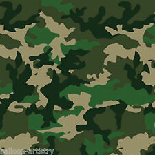 Camouflage Army Forces Party Scene Setter Room Roll Backdrop - Camo Pattern