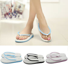 New Women Bath Casual Flip Flops Beach Slippers Sandals Summer Bathroom Shoes
