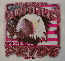 ALL AMERICAN OUTFITTERS AMERICAN PRIDE WITH EAGLE SHIRT #879