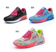 fashion Women's Casual Walking Sneakers Lace-up Athletics Running Sports Shoes