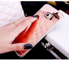 Hot Sale Mirror Soft TPU Chrome Cover Case For Samsung Galaxy S7/S6 Edge Note 5