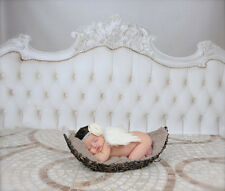 White Angel Wings Girls Boys Baby Prop Outfits Newborn Photo Photography Costume