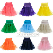 Retro Underskirt 50s Swing Vintage Petticoat Rockabilly Tutu Fancy Net Skirt Hot
