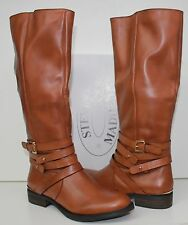 Steve Madden Albany boots cognac brown size 10 - New In Box!
