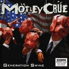 Generation Swine (ltd Ed) - Motley Crue New & Sealed CD-JEWEL CASE Free Shipping