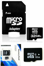 Hot~~ 32GB Memory Micro SD Card TF Flash Class 10 Free Adapter For Smart Phones