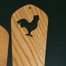 ROOSTER OAK SOCK BLOCKERS by PURRFECTLY CATCHY DESIGNS