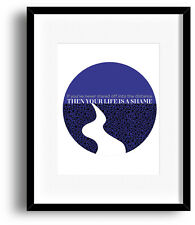 Counting Crows Poster MRS POTTERS LULLABY Song Lyrics Art 90s Music Gift idea