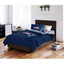 Nfl New England Patriots Bed Comforter Set Bedding Twin Full Piece Football