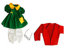 La Chilindrina Costume For Child & Adult - Halloween Costume - Mexican Character