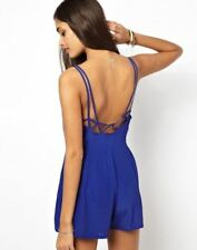 Motel Pearl Strappy Playsuit UK SIZE M