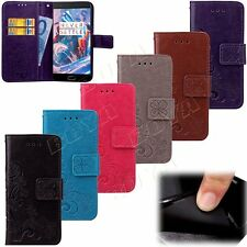 Clover Print Case for Samsung Galaxy Apple iPhone LG Protective PU Leather Cover