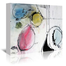 Americanflat 'Motus 7' by Annie Rodrigue Painting Print on Wrapped Canvas