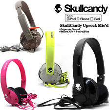 NEW OEM ORIGINAL SKULLCANDY Uprock  HEADPHONES w/ MIC Supreme Sound Black Camo