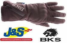 BKS PULSE 0115 WATERPROOF GLOVES TEXTILE THERMAL TOURING WINTER MOTORCYCLE J&S