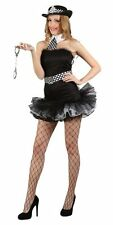Ladies Sexy Wpc Naughty Hen Night Cop Police Woman Fancy Dress Party Costume Xs