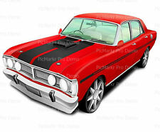 Classic Car Hot Rod ~ Frosting Sheet Cake Topper ~ Edible ~ D9182