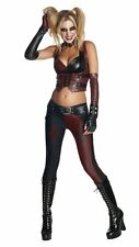 Batman Arkham City Harley Quinn Dark Knight Adult Womens Halloween Costume XS-L