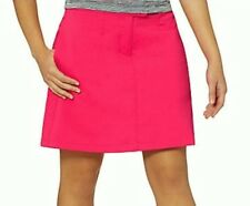 NEW Womens Sz  0 2 4  PUMA  Solid Tech Raspberry Pink Golf Skort Skirt UPF 50