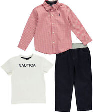 "Nautica Little Boys' Toddler ""Great Outdoors"" 3-Piece Outfit (Sizes 2T - 4T)"