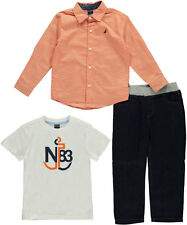 "Nautica Little Boys' Toddler ""Lineup"" 3-Piece Outfit (Sizes 2T - 4T)"