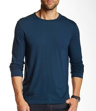 John Varvatos Star USA Men's Long Sleeve Crewneck Tee Shirt Lake $118 msrp NWT